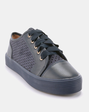 84b2289d344 Dolce Vita Turnt Sneakers Navy