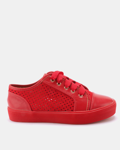 Dolce Vita Turnt Sneakers Red