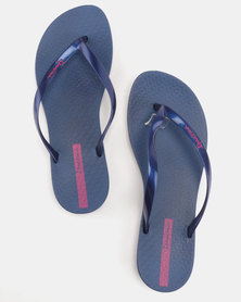 Ipanema Wave Flip Flops Blue