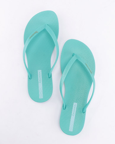 Ipanema Wave Flip Flops Turquoise