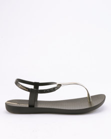 Ipanema Charm V Sandals Fem Black Gold