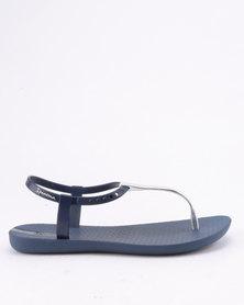 Ipanema Charm V Sandal Fem Blue Silver