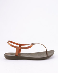 Ipanema Charm V Sandals Fem Brown Bronze