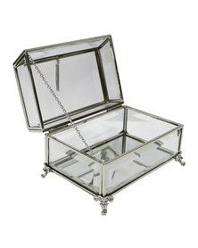 NovelOnline Antiquity Trinket Box Silver