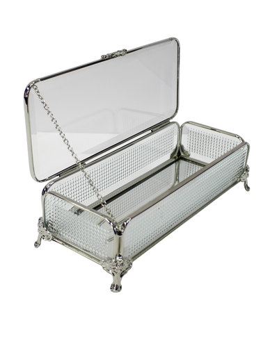 NovelOnline Milano Trinket Box Silver