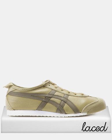 meet cfbdf 698f3 Onitsuka Tiger Mexico 66 Sneakers Safari Khaki/Dark Taupe