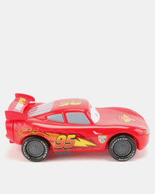 Character Brands Cars 3D Bubble Bath Red