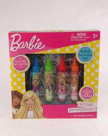 Character Brands Barbie Bath Doodler Gift Set Pink