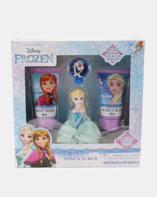 Character Brands Frozen Soap & Scrub Set Pink