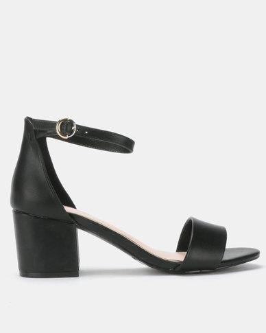 9c83c7c697c Bata Red Label Block Heel Sandals Black