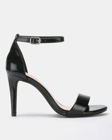 Bata Red Label Stiletto Sandals Black
