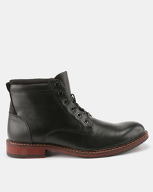 Bata Red Label Casual Lace Up Boots Black