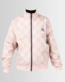 Umbro X Misguided  Rio Oversize Batwing Track Top Evening Sand