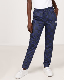 Umbro X Misguided  Rio Track Pants Patriot Blue