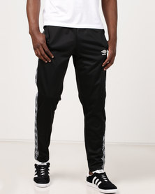 Umbro Retro Taped Tricot Pants Black