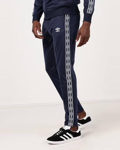 19e95325e Umbro Retro Taped Tricot Pants Tw Navy | Zando
