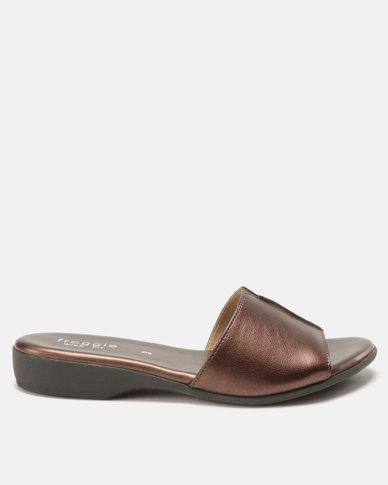 Froggie Ella Mule Sandals Old Penny