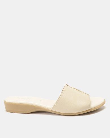 Froggie Ella Mule Sandals Cream