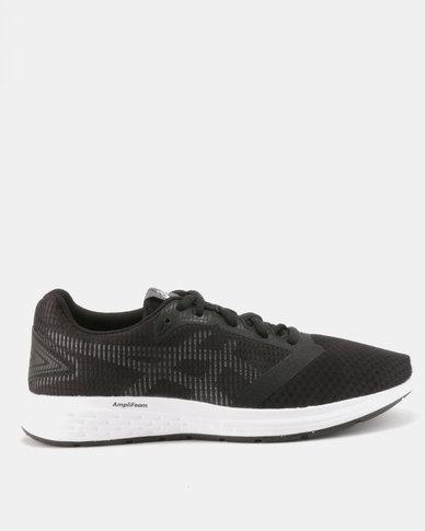 size 40 b78d0 eec5f ASICS Patriot 10 Running Shoes Black   Zando