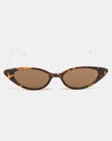 G Couture Cateye Shades Sunglasses Tortoiseshell
