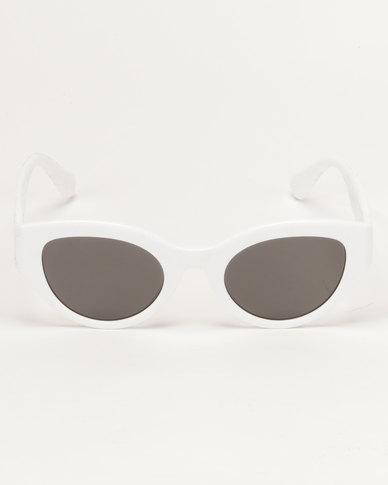 G Couture 50's Shades Sunglasses White
