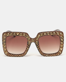 G Couture Ponte Sunglasses Brown