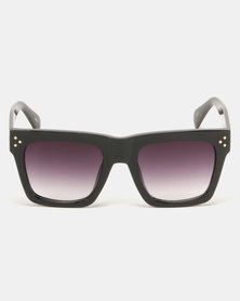 G Couture Thick Rims Sunglasses Black