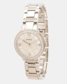 Fossil Virginia Watch Silver