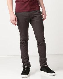 Dickies Slim 847 Trousers Charcoal