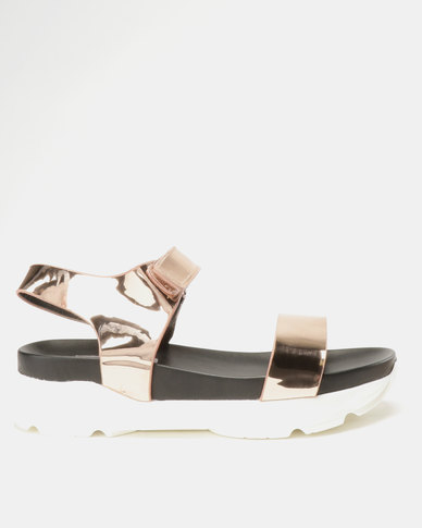 Utopia Sporty Sandals Champagne