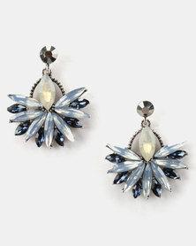 Lily & Rose Jewel Drops Earrings Blue