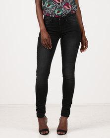 Soviet Skinny Jeans Black