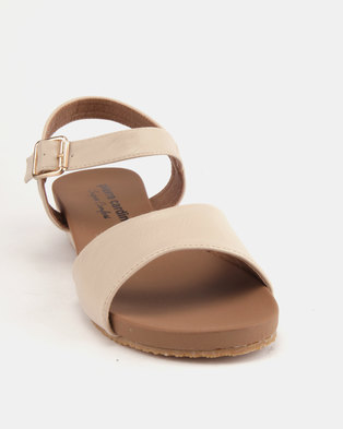 62c626051ab9 Pierre Cardin Comfort Wedge Sandals Beige