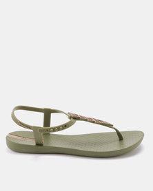 Ipanema Charm IV Fem Sandals Green