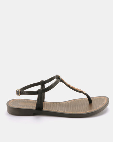 Grendha Alegre Fem Sandals Black