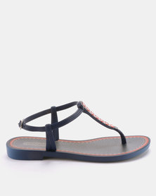 Grendha Alegre Fem Sandals Blue
