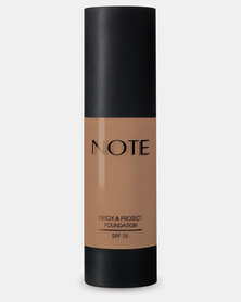 Note Cosmetics Detox And Protect Foundation 102 Warm Almond