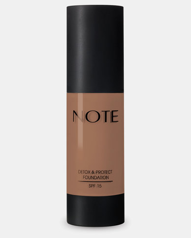 Note Cosmetics Detox And Protect Foundation Pump 107 Toffee
