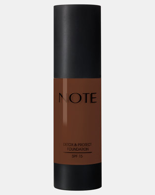 Note Cosmetics Detox And Protect Foundation 110 Smoke