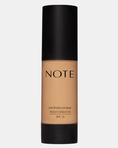 Note Cosmetics Mattifying Wear Foundation Pump 03 Medium Beige
