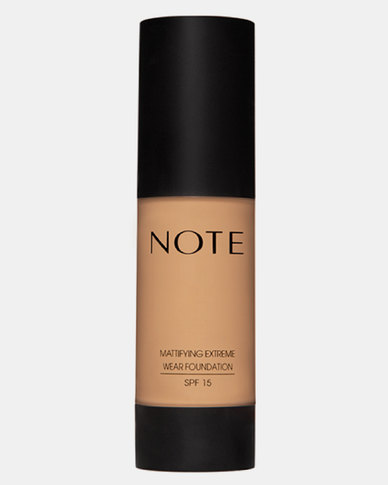 Note Cosmetics Mattifying Wear Foundation Pump 05 Honey Beige