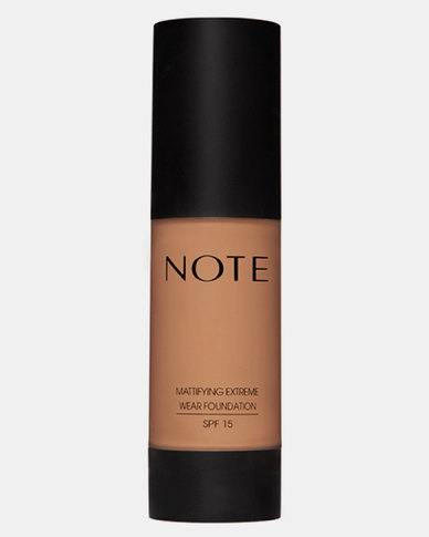 Note Cosmetics Mattifying Wear Foundation Pump 08 Sunny