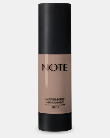 Note Cosmetics Mattifying Wear Foundation 104 Sandstone