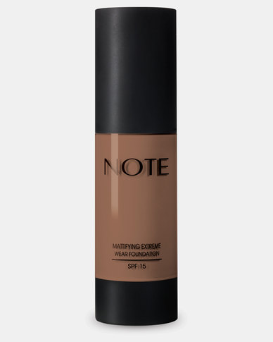 Note Cosmetics Mattifying Extreme Wear Foundation 107 Toffee