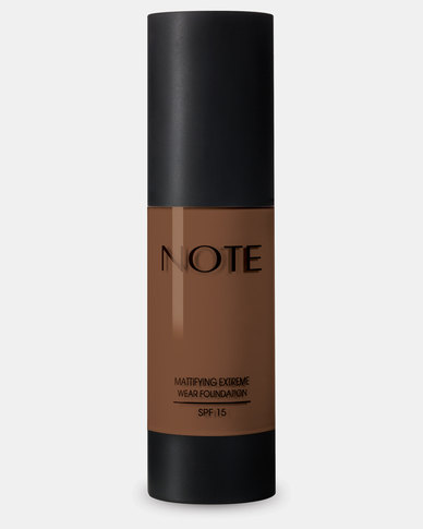 Note Cosmetics Mattifying Extreme Wear Foundation 109 Chocolate