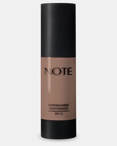 Note Cosmetics Mattifying Extreme Wear Foundation 112 Desert Beige