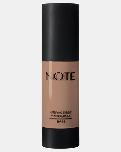Note Cosmetics Mattifying Extreme Wear Foundation 116 Golden Beige