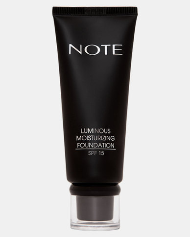 Note Cosmetics Luminous Moisturizing Foundation 105 Oriental Tan