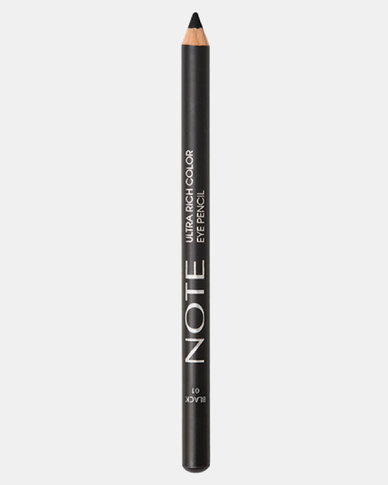 Note Cosmetics Ultra Rich Color Eye Pencil 01