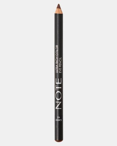 Note Cosmetics Ultra Rich Color Eye Pencil 02